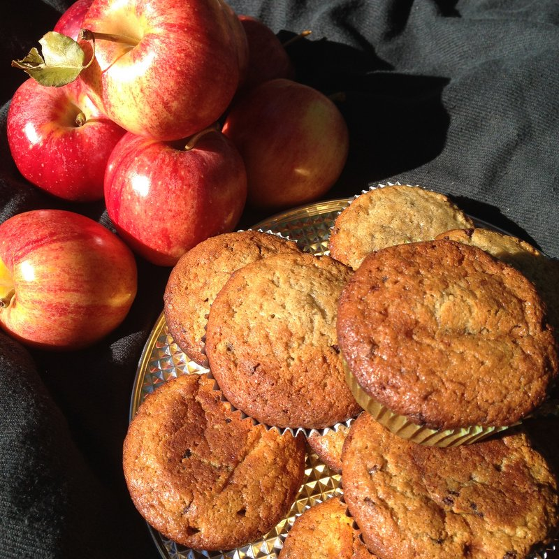 Muffins in The City – Gluten Free Banana Muffins (DE/EN)
