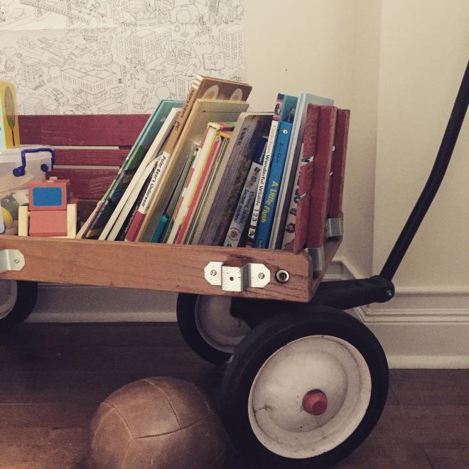 Kidsroom. Bollerwagen.