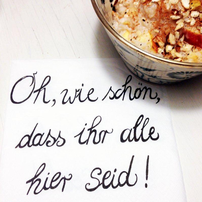 Eine Woche Food Diary mit Kind(DE)